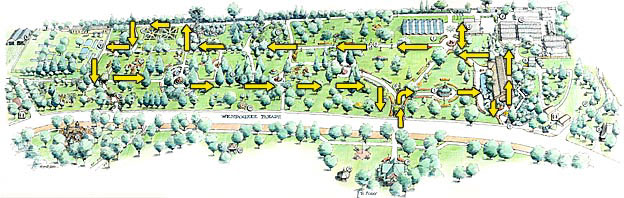 Trail Map for self guided tour